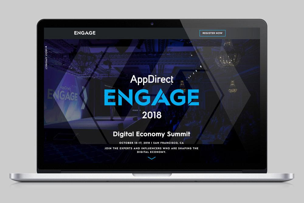 Engage: The Digital Economy Summit, Website