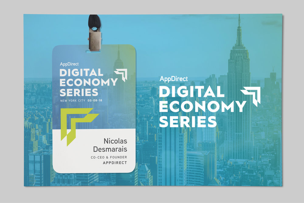 Digital Economy Series Branding | Art Direction, Design by Samantha Salvaggio