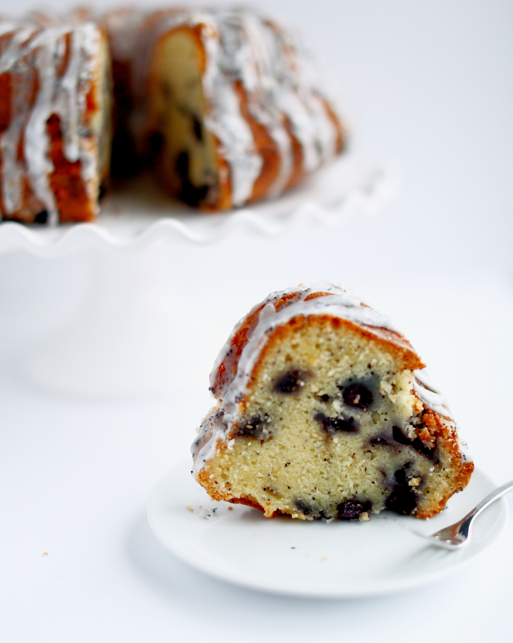 Blueberry Poppy Seed Bundt Cake + VIDEO!!   Truffles and Trends