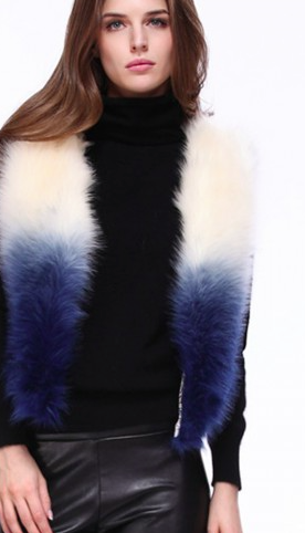unique faux fur jackets and vests