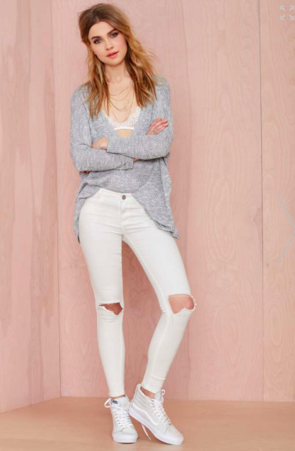 white jeans for petite sizes