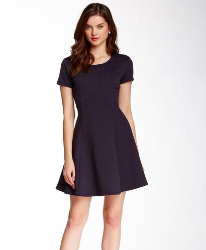 short navy dress for petite sizes