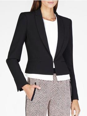 short black blazer for petite sizes