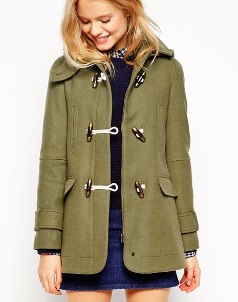 short toggle coat for petite sizes