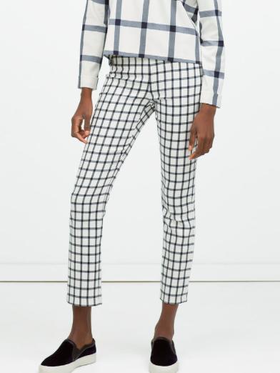 checkered pants