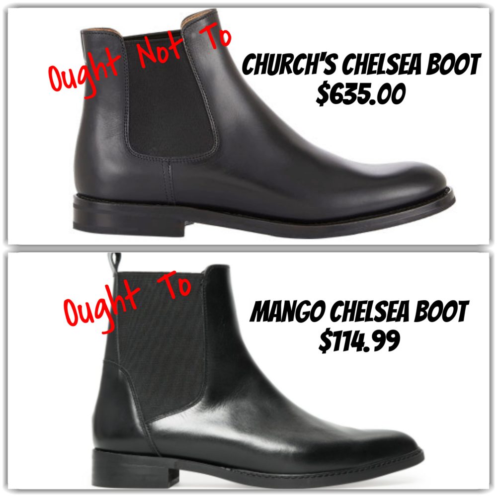 short black boots - expensive and affordable