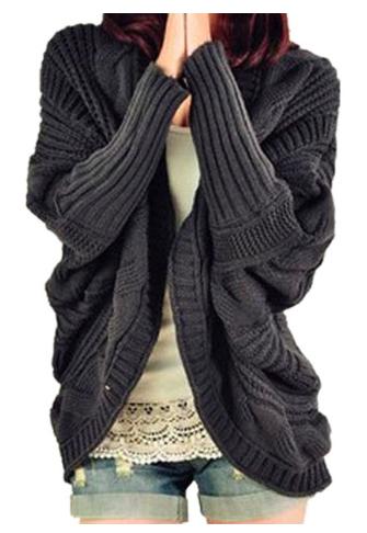 bulky oversized  knit sweater