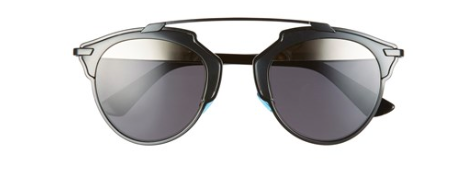 Dior black round sunglasses