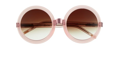 Wildfox oversized round sunglasses