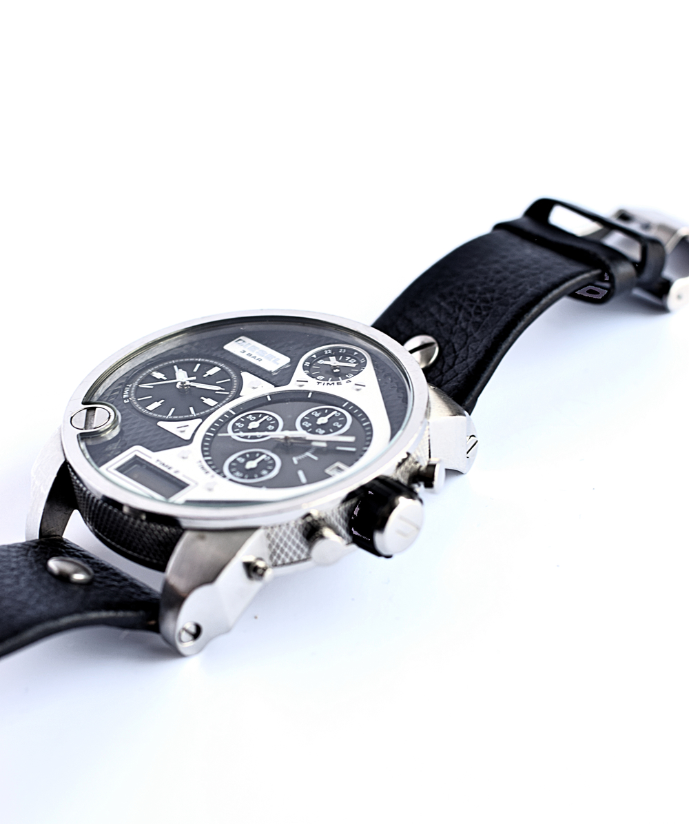 diesel oversized watch