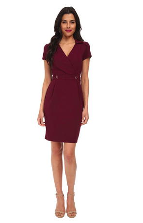 Red Shift Dress - Zappos