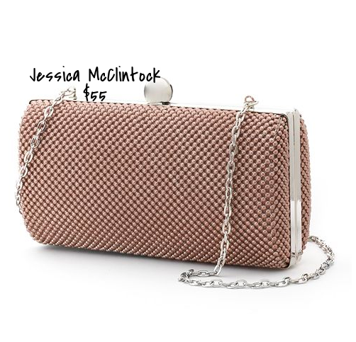 Jessica McClintock hard clutch