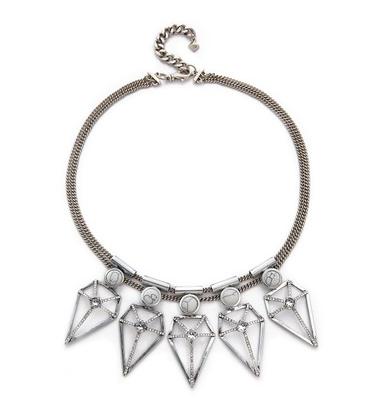 Rebecca Minkoff Metal statement necklace
