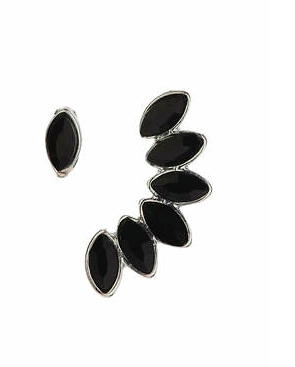 Topshop black earcuff set
