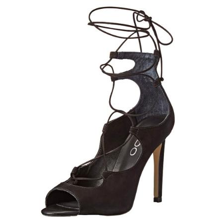 Aldo lace up heel