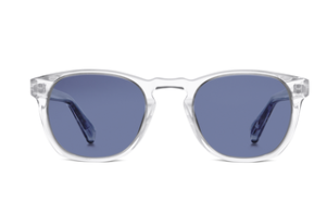 Warby Parker square sunglasses