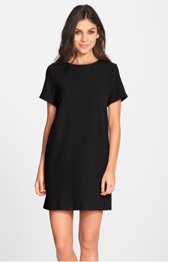 Felicity and Coco black shift dress