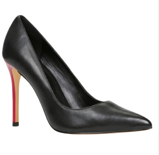 Aldo pointed black pumps