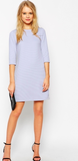 Asos shift short dress