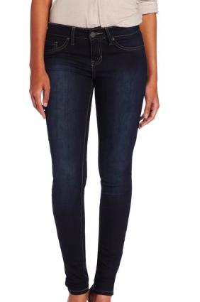YMI dark skinny jeans