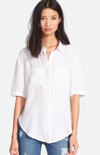 Frame Denim white button down