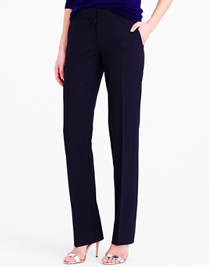 J.Crew wool black pants