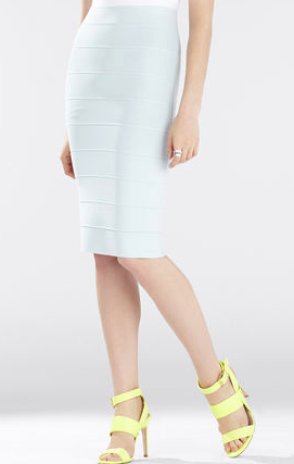 BCBG bandage pencil skirt