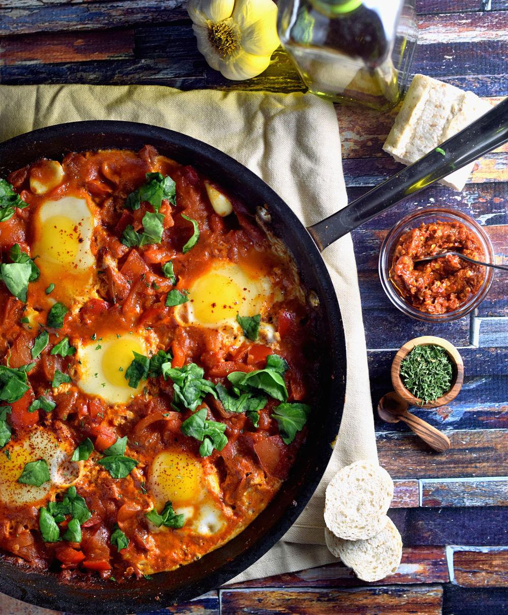 eggs in sauce