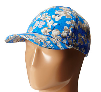 Vince Camuto Floral Baseball Cap