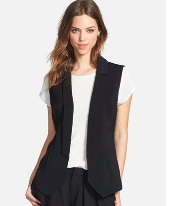 Halogen black vest