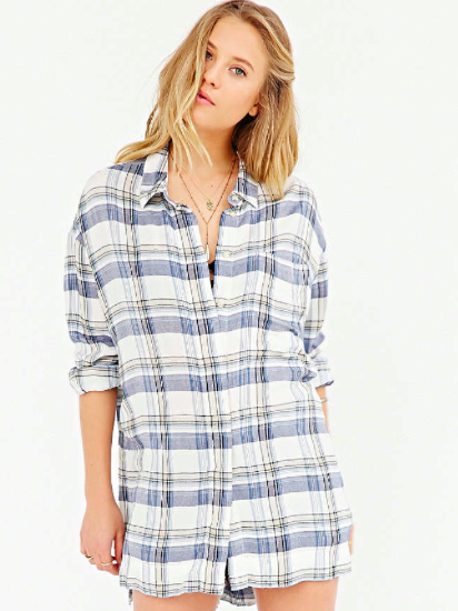 Urban Outfitters checked button down