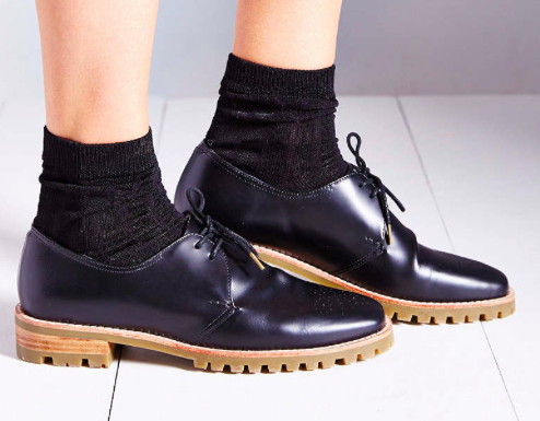 Urban Outfitters Navy Oxfords