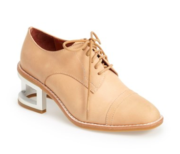 Jeffrey Campbell heeled oxfords