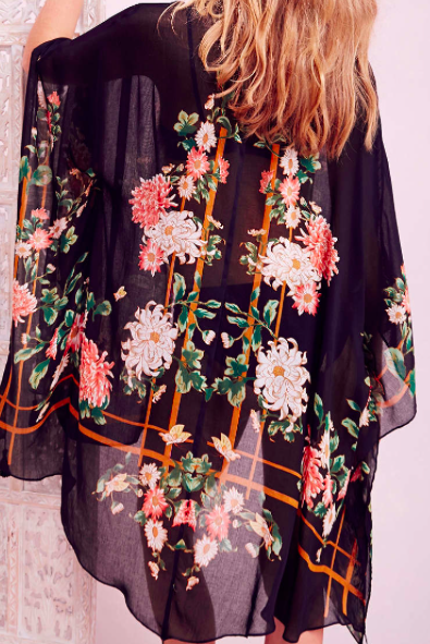 Urban Outfitters sheer kimono