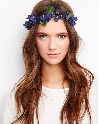 Forever 21 floral headcrown