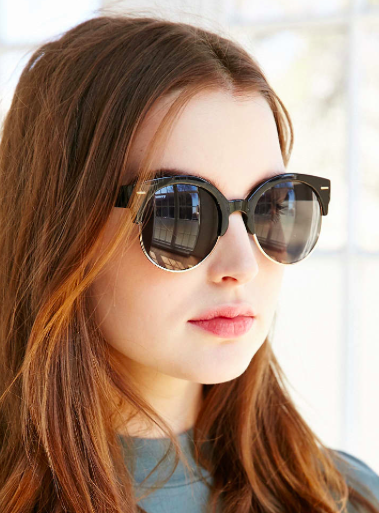 Urban Outfitters metal sunglasses