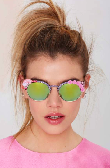 Nasty Gal mirrored sunglasses