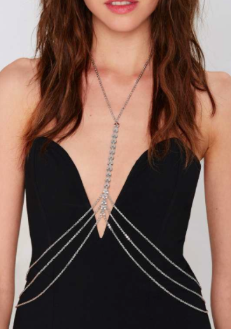 Nasty Gal body chain