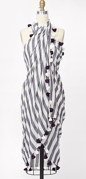 Ann taylor striped wrap