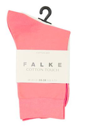 Pink cotton socks Topshop