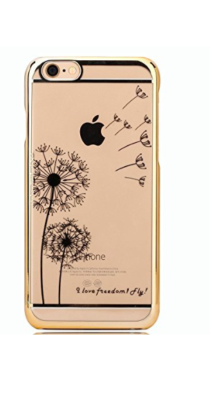 Floral transparent iphone 6 case