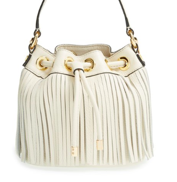 Milly Fringe Leather Bag