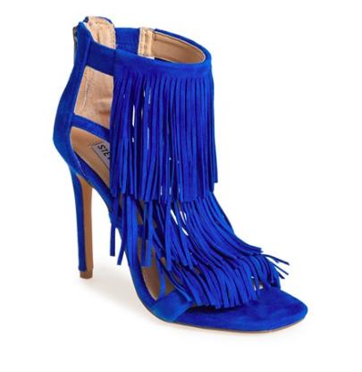 Steve Madden fringe heeled sandal