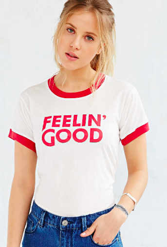 Feelin Good tee Urban Outfitters