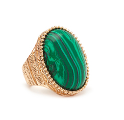 Forever 21 green cocktail ring