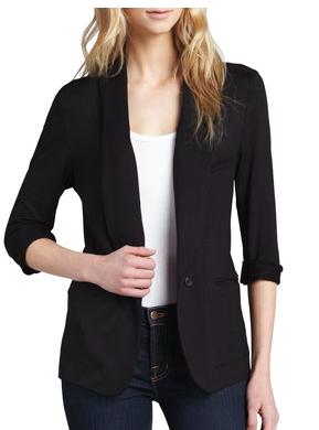 Joie black blazer