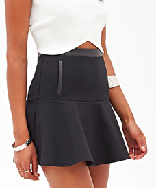 Forever 21 black mini skirt