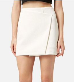 Topshop mini wrap skirt