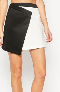 Asos wrap mini skirt