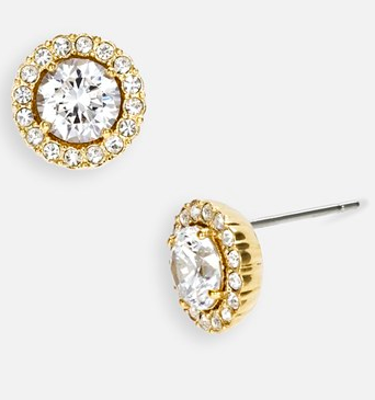 Nadri diamond earrings